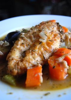 One Pot Chicken and Vegetables - The Daily Dish - 161 mg of Sodium per serving.