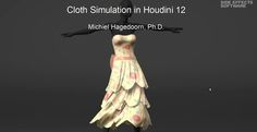 Michiel Hagedoorn helps you to understand everything about cloth simulation in Houdini with this in depth video tutorial https://vimeo.com/58110566
