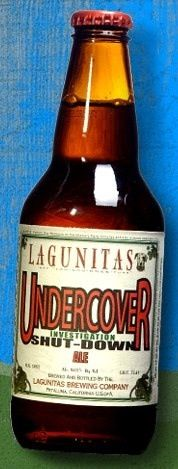 Lagunitas Undercover Investigation Shut-down Ale ~ Caramel, grass, chocolate, booze, brown sugar, citrus. Delicious. Complex and well balanced, this is another great example of Lagunitas' stand out American Strong Ales.