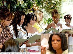Oprah......The Legends Ball