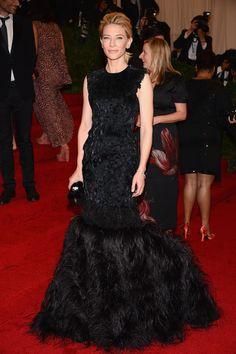 Cate Blanchett in Alexander McQueen Met Ball 2012