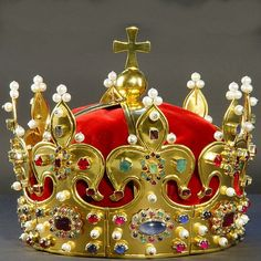 The Crown of Boleslaw Chrobry (Boleslaw the Brave) according to a legend was handed over to the first Polish monarch by Emperor Otto III, bu...
