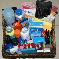DIY Bathroom Baskets...Wow! Such a great list!!