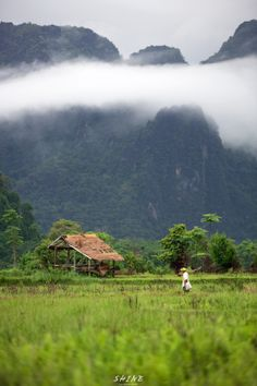 Laos_Vangvieng_farmer by LEE SEUNGWOOK on 500px