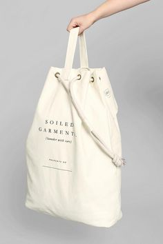 Izola Soiled Garments Laundry Bag #urbanoutfitters