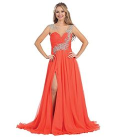 Vivebridal Women's Long Chiffon Scoop with Stones Evening Party Dress Orange 26w Vivebridal http://www.amazon.com/dp/B012CMJGV2/ref=cm_sw_r_pi_dp_be1Svb0JWGKCM