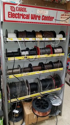 Since Oakland Hardware has offered its customers everything needed for home projects: quality brand name products plus expert advice. Storage Shed Organization, Garage Storage Systems, Shop Storage, Electrical Stores, Warehouse Design, Shop Counter, Electronic Shop, Store Layout, Lighting Store