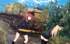 Not where it's supposed to go, but why should I complain? Thicc Anime, Chica Anime Manga, Anime Comics, Anime Military, Military Girl, Kawaii Anime Girl, Anime Art Girl, Guerra Anime, Anime Warrior