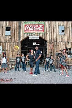 Rockabilly family photos