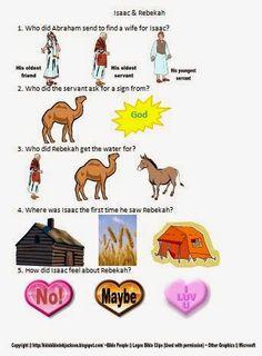Free Bible Worksheets @ Bible Fun For Kids
