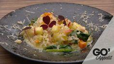 Risotto med gulerod, spinat og æble | Mad