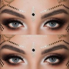 When you decide to step away from your traditional eyeliner look, we have a handful of new ideas for you to try out. Time does not stand still and you should not! Anything on the scale from bright to classy is covered here! Choose your perfect look and do not be afraid of experimentation! #makeup #makeuplover #makeupjunkie #eyeliner