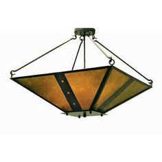 2nd Ave Design Zandra 4 Light Inverted Pendant Finish: Pompeii Gold Premium
