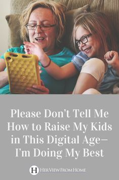 Parenting is a hard job, and it can be even harder to navigate in this world we live in where technology is at our kids' fingertips. Let's support one another as we learn how to parent in this digital age. Mean Parents, Raising Teenagers, Child Loss, Quotes About Motherhood, Parenting Advice, Kids Learning, Digital, School Kids, Technology