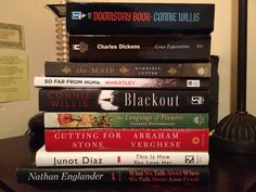 Winter Reading: What's on Your Bedside Table?