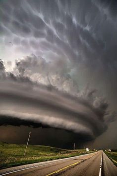 Super cell in Nebraska