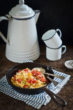 Revoltillo de huevos (Scrambled eggs a la dominicana) is a GREAT Dominican version of a breakfast favorite. YUM!