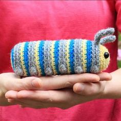 Chip the caterpillar amigurumi pattern
