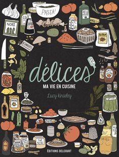 The cover for the French edition of Relish!; by Lucy Knisley