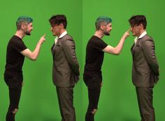 Jacksepticeye (Anti) and Markiplier (Dark). THERE'S ALREADY PINS OF THIS?? THIS WAS POSTED TODAY!!!