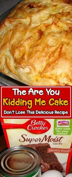 Cake Mix Desserts, Easy Desserts, Delicious Desserts, Yummy Food, Oreo Desserts, Plated Desserts, Dump Cake Recipes, Dessert Recipes, Food Cakes