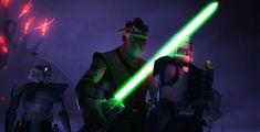 Krell threatens Fives with a lightsaber! Peace Is A Lie, Jango Fett, Set Me Free, Obi Wan, Avatar The Last Airbender, Lightsaber, Clone Wars, For Stars, Far Away