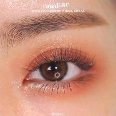 Korean Makeup Look, Asian Eye Makeup, Eye Makeup Steps, Makeup Eye Looks, Eye Makeup Art, Simple Eye Makeup, Beauty Makeup Tips, Natural Makeup, Makeup Tutorial Eyeliner