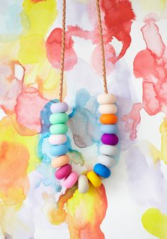 Image of AMELIE 18 Bead Necklace
