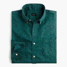Secret Wash shirt in vineyard print : secret wash | J.Crew