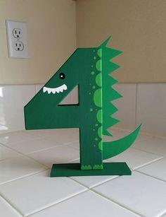 Apoyo de foto de dinosaurio dinosaurio edad cumpleaños