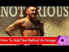 CRiZZO.NET: How to layer text behind an image in Affinity Phot...
