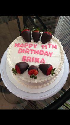 Strawberry chiffon for sweet Erika!