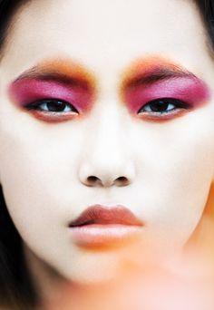 Asian beauty , makeup Sophie parrot photography romain rosa