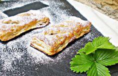 Blog de cuina de la dolorss: Coca de hojaldre rellena de chocolate