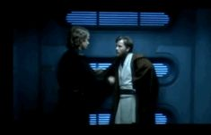 "rubbish78: ""Nerds at Work: Hayden Christensen & Ewan McGregor —'Star Wars III: Revenge of the Sith' - Behind the Scenes """