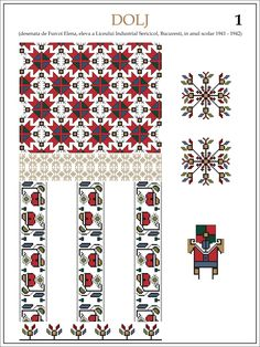 semne cusute - Yahoo Search Results Beading Patterns, Embroidery Patterns, Cross Stitch Patterns, Hama Beads, Romania, Pixel Art, Folk Art, Projects To Try, Traditional