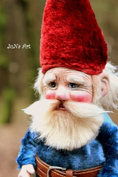 """OOAK doll """"The Gnome"""" is looking for the new home. http://www.ebay.com/itm/OOAK-doll-GNOME-Heinzelmannchen-Rien-Poortvliet-/181317367751?pt=LH_DefaultDomain_0&hash=item2a375b77c7"""