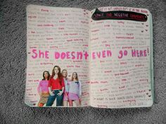 """Haha LOVE this idea, have a page in your """"Wreck Journal"""" for all the people you hate and why haha!"""