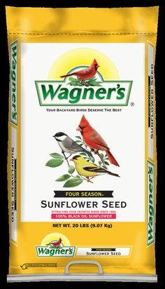 The favorite seed of most Songbirds. Extra clean, thin shelled Sunflower Seed has high energy content Feed in tube feeders, shed feeders or platform feeders Attracts the widest variety of birds Satisfaction guaranteed Available sizes: 10, 20 & 40 lb. bags; 12 lb. bucket