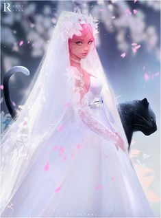 ArtStation - Bride, Ross Tran
