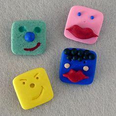 Ragazzino spille / divertente / giovani dono / Kid di bleuluciole