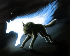 con el espíritu del lobo, por ramza fondo de pantalla