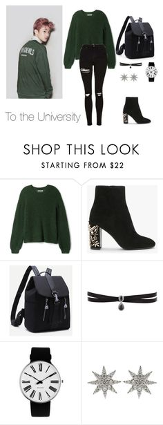 """NCT"" by vieen ❤ liked on Polyvore featuring Fallon, Rosendahl, Bee Goddess and Topshop"