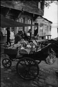 Fruitvendor in the streets of Beykoz district of Istanbul.