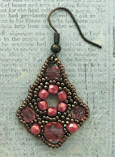 Linda's Crafty Inspirations: Belle of the Ball Earrings - More Samples