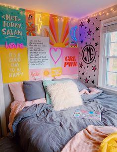 Elegant dorm room decorating ideas 10 is part of Room decor Elegant dorm room decorating ideas 10 - Cute Room Ideas, Cute Room Decor, Room Wall Decor, Cute Girls Bedrooms, Girls Bedroom Colors, Twin Girls, Aesthetic Room Decor, Cute Dorm Rooms, Dorm Room Art