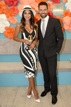 Pia Miller.. by johnny dress, with Tony Bianco heels..