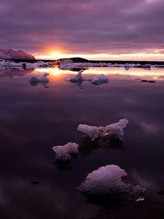 ✯ Jokulsarlon Sunrise ~by Ben  H. ✯