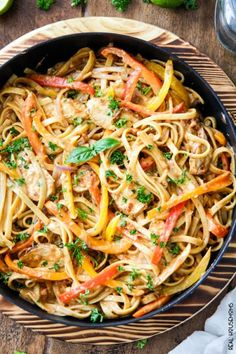 Creamy, CAJUN CHICKEN PASTA IN SUN-DRIED TOMATO ALFREDO SAUCE is melt in your mouth delicious and 1,000x better than any restaurant at a fraction of the cost and calories!