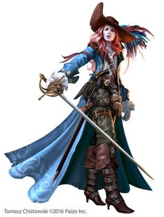 """we-are-rogue: """" Mayor Vendria by Takeda11 @we-are-swashbuckler """""""